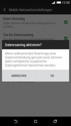 HTC Desire 620 - Ausland - Im Ausland surfen – Datenroaming - 1 / 1
