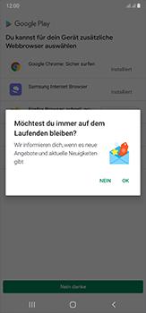 Samsung Galaxy Note 20 Ultra 5G - Apps - Installieren von Apps - Schritt 4