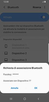 Samsung Galaxy S9 - Android Pie - Bluetooth - Collegamento dei dispositivi - Fase 8