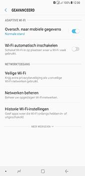 Samsung Galaxy A9 (2018) - wifi - schakel Wi-Fi Assistentie uit - stap 10