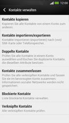 HTC One - Anrufe - Anrufe blockieren - Schritt 6