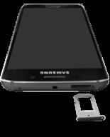 Samsung G925F Galaxy S6 Edge - SIM-Karte - Einlegen - Schritt 3