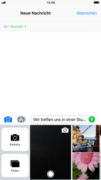 Apple iPhone 8 Plus - MMS - Erstellen und senden - 0 / 0