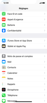 Apple iPhone XS - E-mail - Configuration manuelle (gmail) - Étape 3