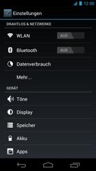 Samsung Galaxy Nexus - MMS - Manuelle Konfiguration - 4 / 14
