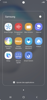Samsung Galaxy Note 10+ - Internet et connexion - Naviguer sur internet - Étape 4