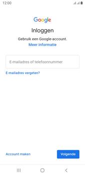 Samsung galaxy-j6-sm-j600fn-ds-android-pie - Applicaties - Account aanmaken - Stap 5