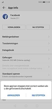 Huawei P20 - Android Pie - apps - apps afsluiten - stap 7