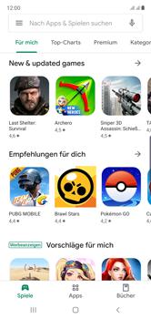 Samsung Galaxy Note 10 - Apps - Einrichten des App Stores - Schritt 22