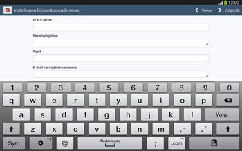 Samsung P5220 Galaxy Tab 3 10-1 LTE - E-mail - e-mail instellen: POP3 - Stap 9