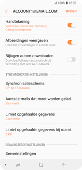 Samsung Galaxy S9 (SM-G960F) - E-mail - Instellingen KPNMail controleren - Stap 13