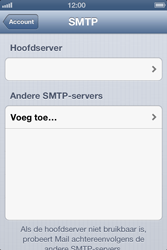 Apple iPhone 4 S - E-mail - Handmatig instellen - Stap 16