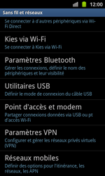 Samsung I8530 Galaxy Beam - Internet - configuration manuelle - Étape 6