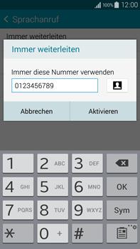 Samsung N910F Galaxy Note 4 - Anrufe - Rufumleitungen setzen und löschen - Schritt 11