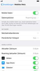 Apple iPhone 6s iOS 11 - Internet und Datenroaming - Deaktivieren von Datenroaming - Schritt 4