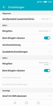 Huawei Honor 9 Lite - Anrufe - Rufumleitungen setzen und löschen - 5 / 9