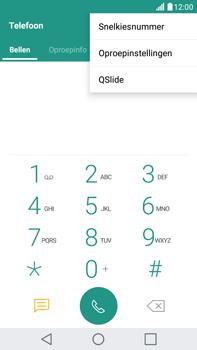 LG K520 Stylus 2 DAB+ - Voicemail - Handmatig instellen - Stap 4