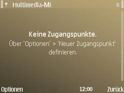 Nokia E72 - MMS - Manuelle Konfiguration - Schritt 9