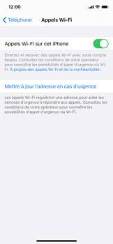 Apple iPhone 11 Pro - WiFi - Activez WiFi Calling - Étape 8
