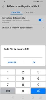 Huawei P Smart Z - Sécurité - modifier SIM PIN - Étape 9