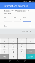 Huawei Nova - Applications - Créer un compte - Étape 7