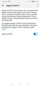 Huawei P30 - WiFi - Activez WiFi Calling - Étape 9