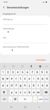 Samsung Galaxy A50 - E-Mail - Manuelle Konfiguration - Schritt 12