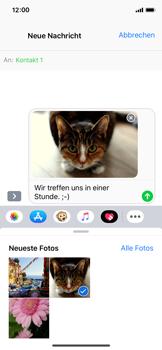 Apple iPhone X - MMS - Erstellen und senden - 15 / 17