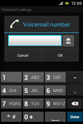 Sony C1505 Xperia E - Voicemail - Manual configuration - Step 7