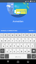 Sony Xperia XZ - E-Mail - Konto einrichten - Schritt 9