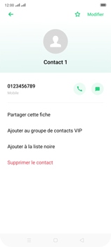 Oppo Reno 2 - Contact, Appels, SMS/MMS - Ajouter un contact - Étape 8