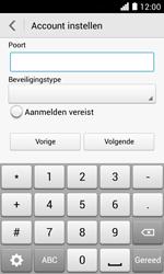 Huawei Ascend Y330 - E-mail - Handmatig instellen - Stap 16