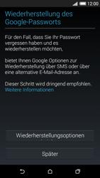 HTC Desire 620 - Apps - Konto anlegen und einrichten - 13 / 23