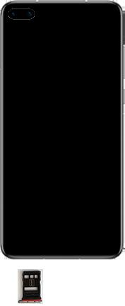 Huawei P40 - Premiers pas - Insérer la carte SIM - Étape 3