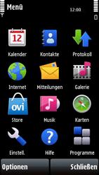 Nokia 5800 Xpress Music - Fehlerbehebung - Handy zurücksetzen - 5 / 11