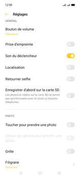 Oppo A15 - Photos, vidéos, musique - Prendre une photo - Étape 9