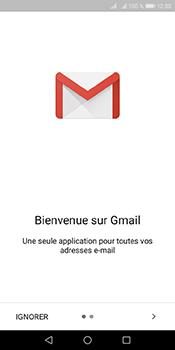 Huawei Y6 (2018) - E-mails - Ajouter ou modifier votre compte Gmail - Étape 4