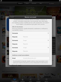Apple iPad mini - Applicazioni - Configurazione del negozio applicazioni - Fase 15