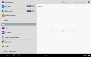 Samsung Galaxy Tab 2 10.1 - Netzwerk - Manuelle Netzwerkwahl - Schritt 6
