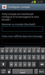 Samsung Galaxy Express - E-mail - Configuration manuelle - Étape 17