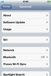 Apple iPhone 4 S - Bluetooth - Pair with another device - Step 4