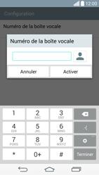 LG G3 (D855) - Messagerie vocale - Configuration manuelle - Étape 8