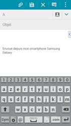 Samsung G900F Galaxy S5 - E-mail - envoyer un e-mail - Étape 4