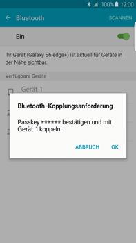 Samsung G928F Galaxy S6 edge+ - Bluetooth - Geräte koppeln - Schritt 9