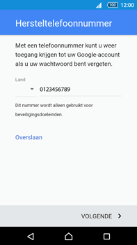 Sony Xperia Z5 Premium (E6853) - Applicaties - Account instellen - Stap 13