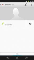 Sony Xpéria SP - Contact, Appels, SMS/MMS - Ajouter un contact - Étape 11