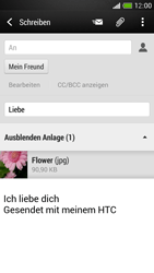 HTC One Mini - E-Mail - E-Mail versenden - 0 / 0