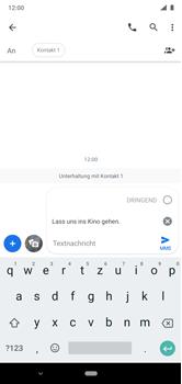 Nokia 6.1 Plus - Android Pie - MMS - Erstellen und senden - Schritt 11