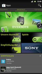 Sony Xperia S - Apps - Herunterladen - 0 / 0