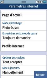 Samsung S5250 Wave 525 - Internet - Configuration manuelle - Étape 13